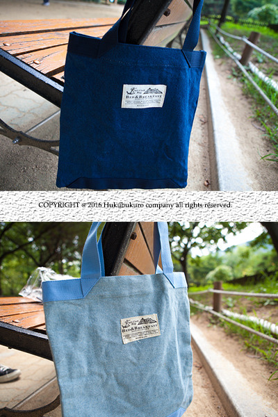 acc886. campus denim bag [2color]