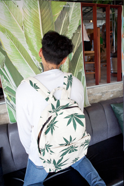 acc1107. marihuana backpack